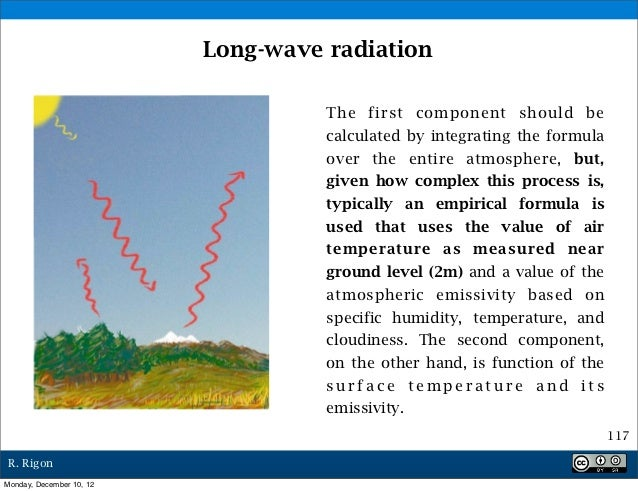 Long-wave radiation                                    The first component should be                                    ca...
