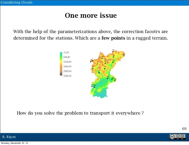 Considering Clouds                                  One more issue          With the help of the parameterizations above, ...