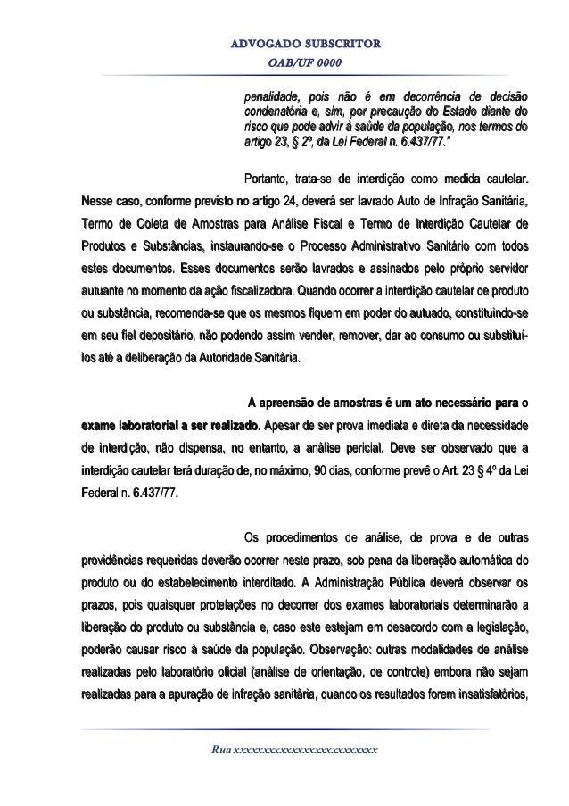 Modelo Defesa Processo Administrativo Artigo November 2019