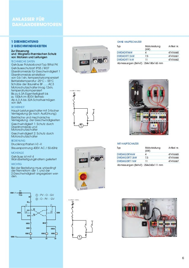 SERMES Brochure elektromechanische motorstarters v0.0