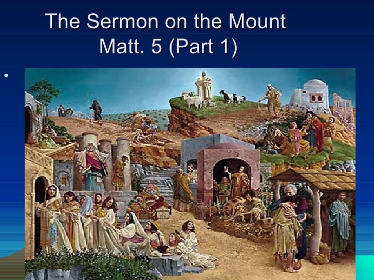 a history of sermon on the mount Emphasizing the historical distance between the new testament and our  contemporary culture, the sermon on the mount by scot mcknight, part of the  new the.