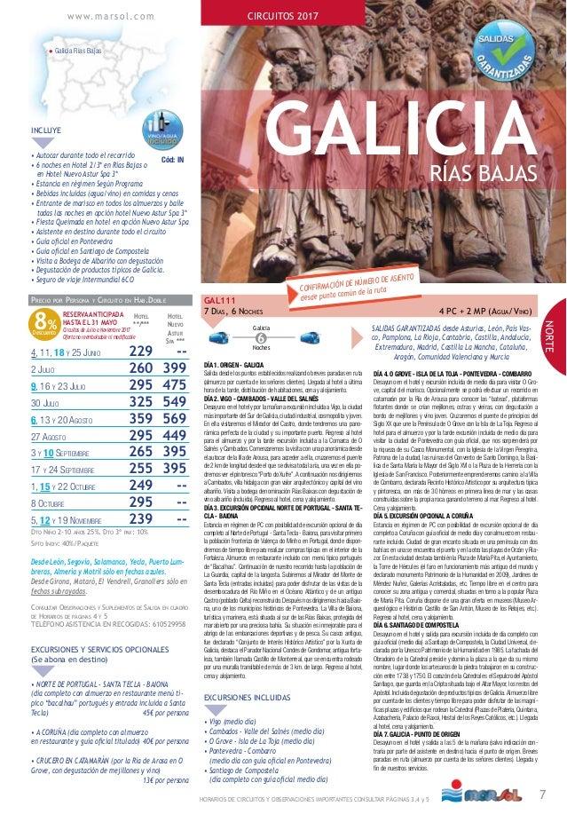 Circuito Galicia : Circuito por galicia rías bajas