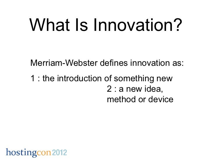 innovation is the - photo #35