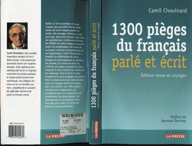 1300 Pièges du Français Parlé et Ecrit Gratuitement [Www.lfaculte.Com]