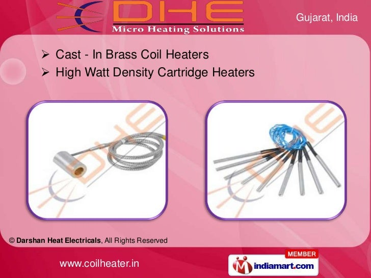 Cast In Brass Coil Heater By Darshan Heat Electricals