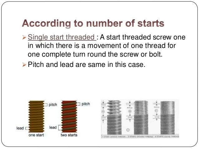 Screw Thread Measurement Prepared By Bhautik Darshit