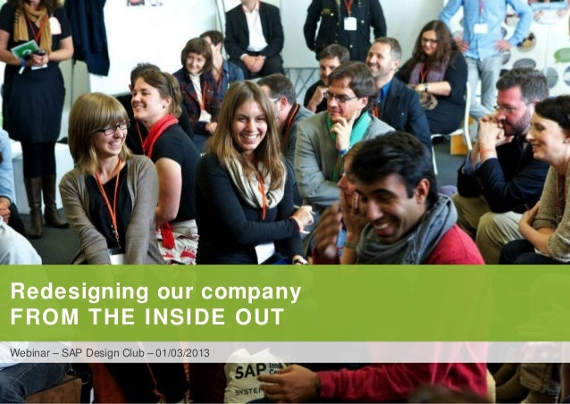 1 POINT-BLANK INTERNATIONALRedesigning our companyFROM THE INSIDE OUTWebinar – SAP Design Club – 01/03/2013