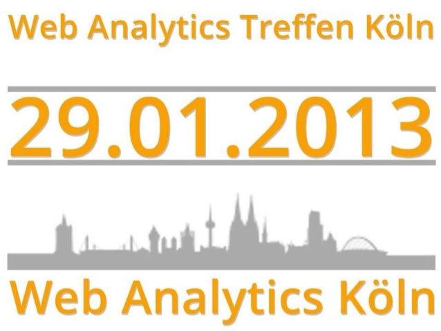 Xing Gruppe Web Analytics Köln