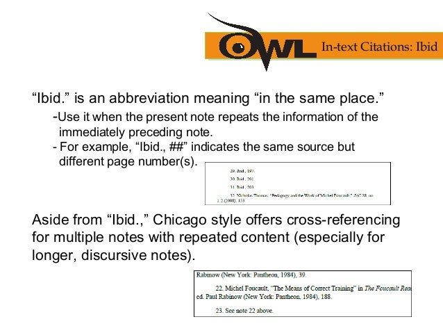 Chicago manual of style citation ibid auction