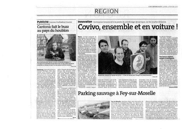 Covivo, ensemble et en voiture !