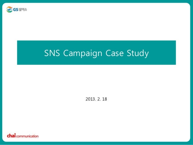 SNS Campaign Case Studyㅇㅇㅇㅇㅇ                 2013. 2. 18