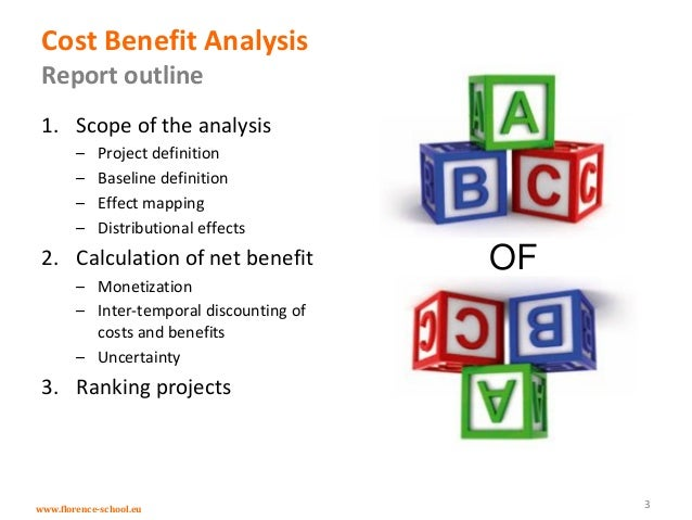 Cost Benefit Analysis In The Context Of The Energy Infrastructure Pac