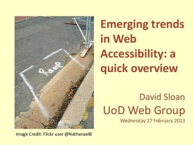 Emerging trends                                                        in Web                                             ...