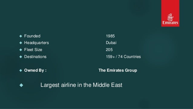 Emirates Airlines Case Study Solution & Analysis