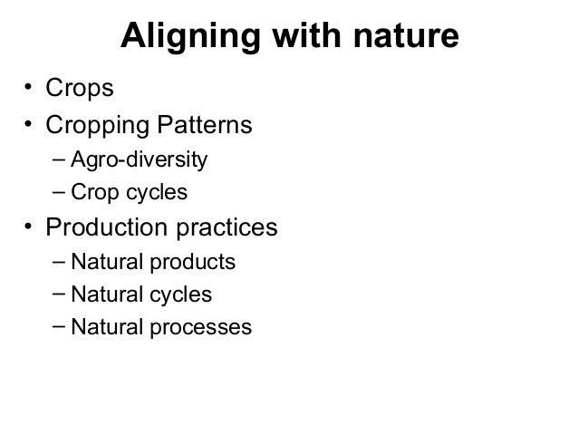Agro-ecological approaches for sustaining farm based livelihoods Slide 3
