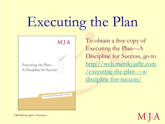 Keys to Managing the Major Gifts Process: It's All in the Execution