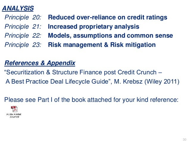 securitization and structured finance post credit crunch a best practice deal lifecycle guide