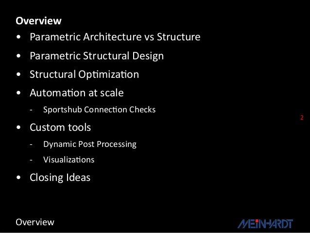 Parametric Architecture Talk (Presented 13 March 2013)