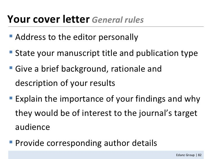 how to write a cover letter online