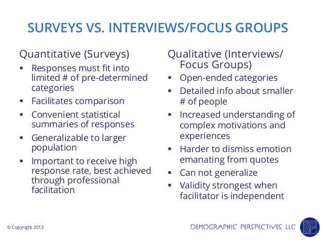 difference between an interview and group [6] these types of interviews are conducted once only, with an individual or with a  group and generally cover the duration of 30 min to more than an hour.
