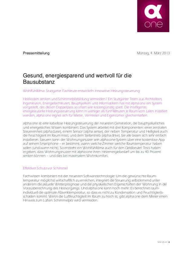 Seite 1111 von 4444Gesund, energiesparend und wertvoll für dieBausubstanzWohlfühlklima: Stuttgarter Fachleute entwickeln i...
