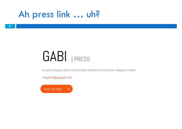 Ah press link … uh?21