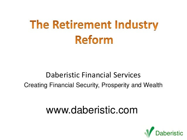 Daberistic Financial ServicesCreating Financial Security, Prosperity and Wealth        www.daberistic.com                 ...
