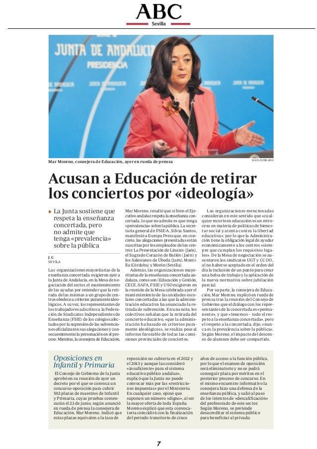 ABC   MIÉRCOLES, 27 DE MARZO DE 2013      abcdesevilla.es/andalucia                                                       ...