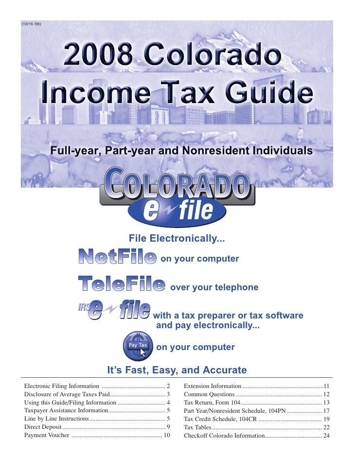 colorado.gov cms forms dor-tax CY104
