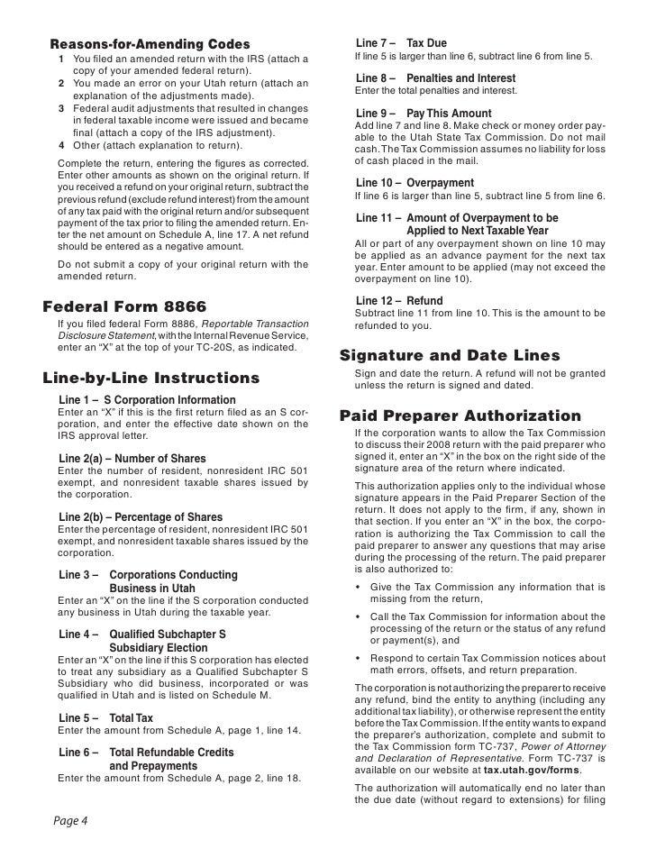 Corporation Tax Return Amending Corporation Tax Return