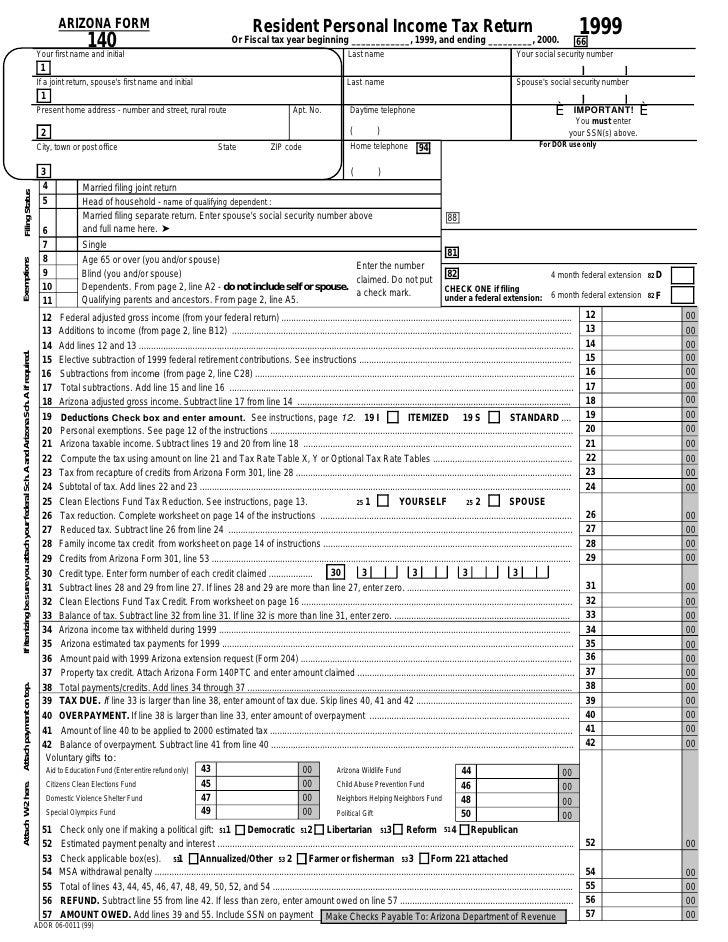 w2 form arizona  azdor.gov Forms 16f