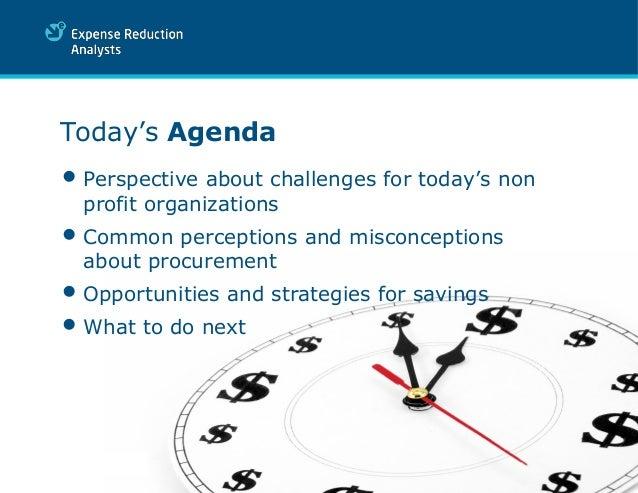 challenges of procurement in non profit organizations Project management for non-profits  •benefits for non-profit organizations  •procurement •integration nov 2014 21.