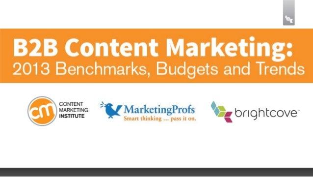 Neun von zehn B2B-Marketer nutzen Content Marketing,um ihr Unternehmen wachsen zu lassen.Content Marketing Institute and M...