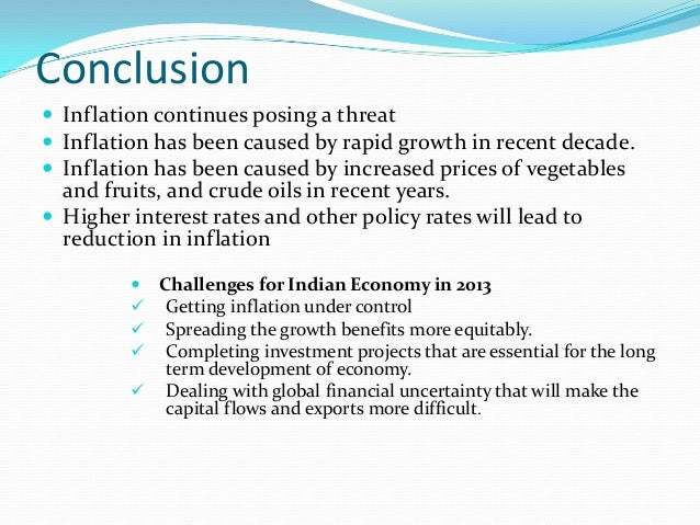 inflation and its current relevance