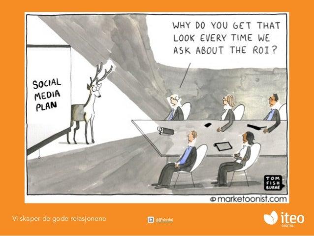 Sosiale Medier - Strategi og ROI Slide 3
