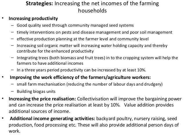 42Switching over to ecological farming practices