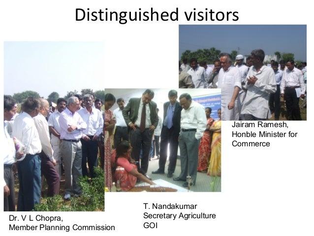 Improved Agricultural Incomes (Pre CMSA Comparedto Post CMSA farms)Average Returns: District wise/Farmer/ha.:S.NoDistrictA...