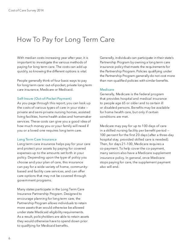 Genworth 2014 cost of care survey