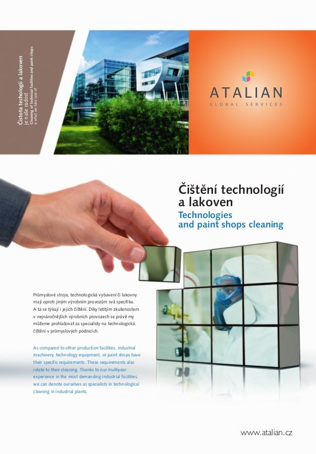 Technologie  Special industrial cleansing  Cleaning of technical facilities and paint shops is what we take care of  Facil...