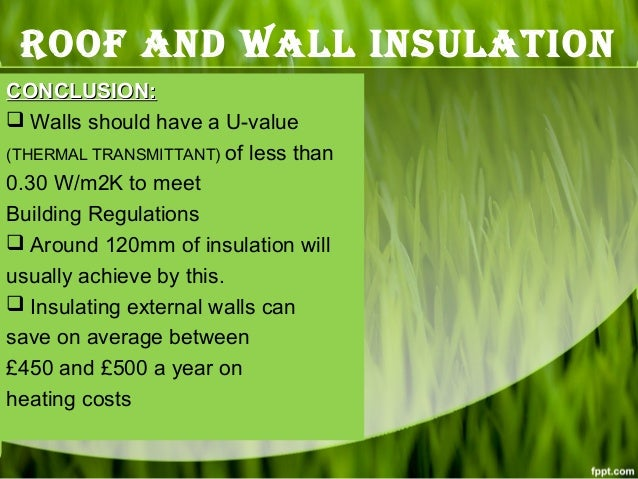 Roof Amp Wall Insulation