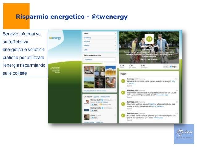 Risparmio energetico - @twenergyServizio informativosullefficienzaenergetica e soluzionipratiche per utilizzarelenergia ri...