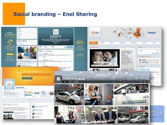 Social branding – Enel Sharing