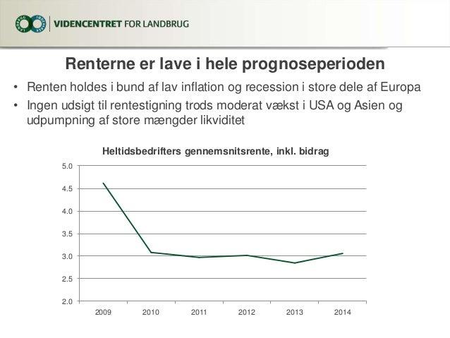 Landbrugets økonomiske resultater 2012-2014. Juni 2013. Slide 3