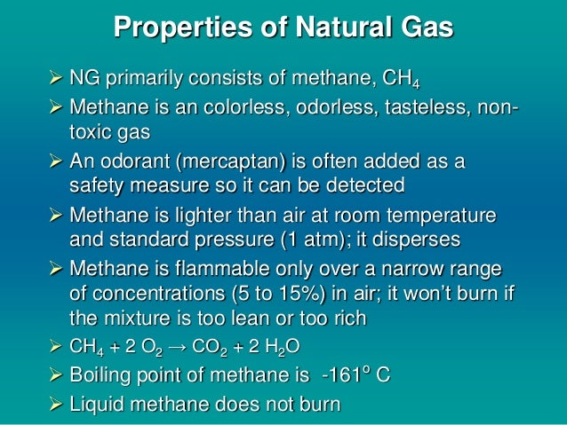 Mercaptan Added To Natural Gas