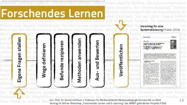 Forschendes Lernen und E-Learning Slide 2