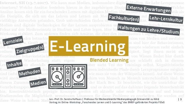 Forschendes Lernen und E-Learning Slide 3