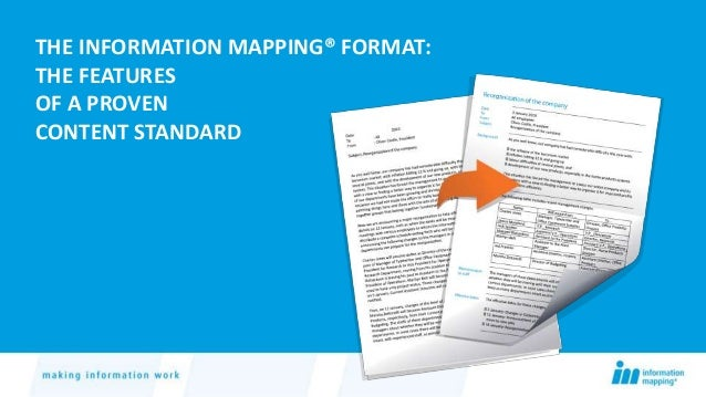 The Information Mapping Format: A Proven Content Standard on information revolution, algorithmic information theory, information about computers, information geometry, information processor, information tracking, information management, information sensitivity, information security, information broker, information overload, information graphics, information entropy, information reports, information media, information highway, information design, information technology, information communication, information tool, information architecture, information control, information systems, information theory, information animation, information processing, information system, information science, information sign, information data, information art,