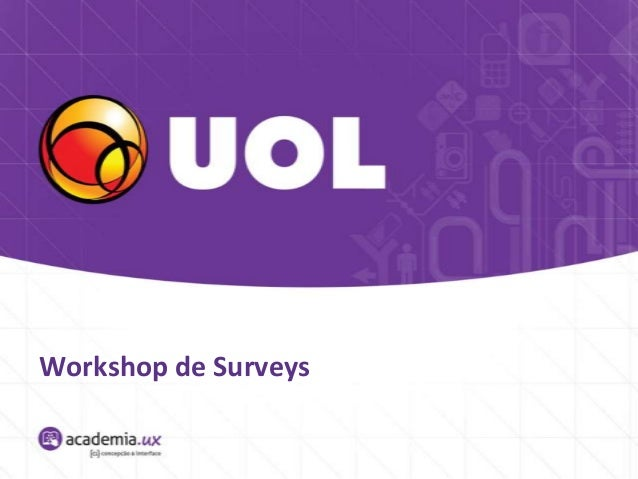 Workshop de Surveys
