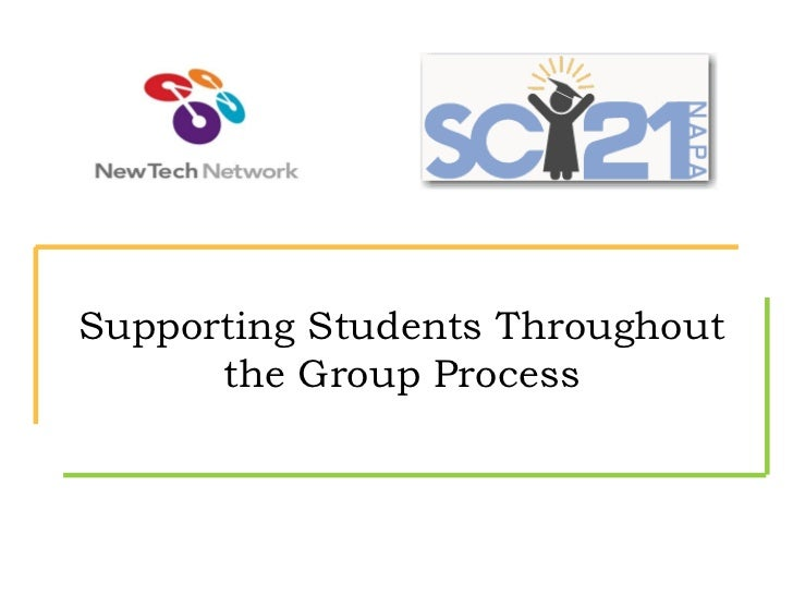 Supporting Students Throughout the Group Process