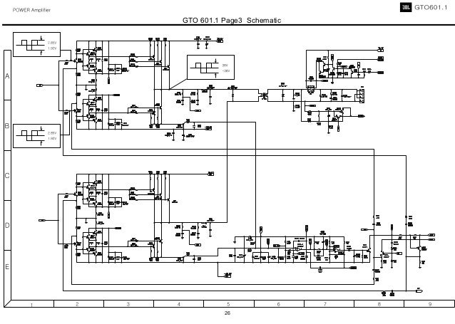 Jblgto6011. Gto 6011 Page3 Schematic 26. Wiring. Gto 502 Wiring Diagram At Scoala.co